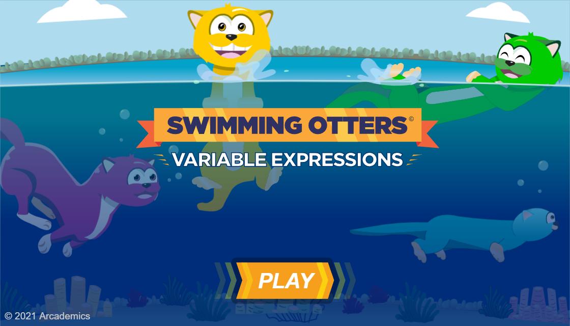 Resultado de imagen de swimming otters