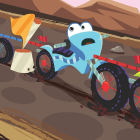 Dirt Bike Comparing Fractions