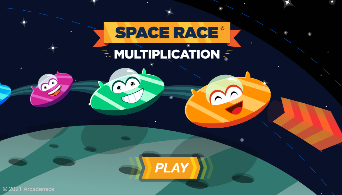 Space Race - Arcademic Skill Builders